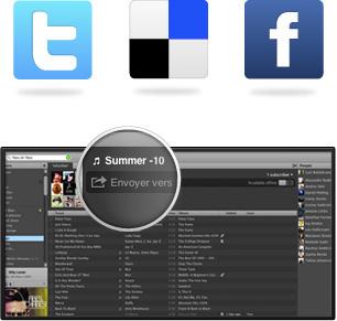 Spotify-partage