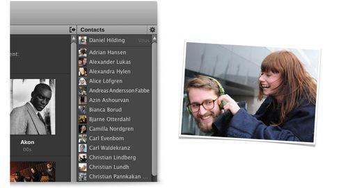 Spotify-réseau