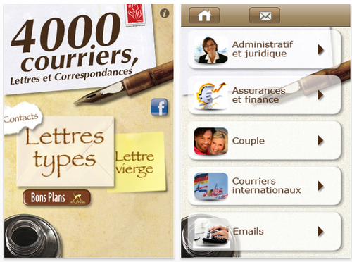 4000 courriers