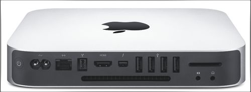 Mac mini connectique